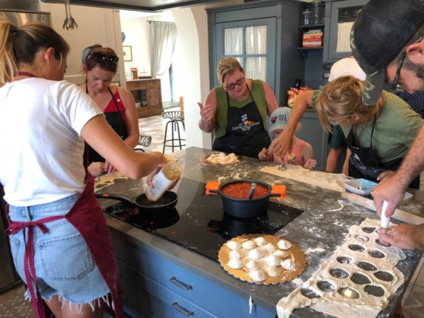 COOKING CLASS IN VIGNA